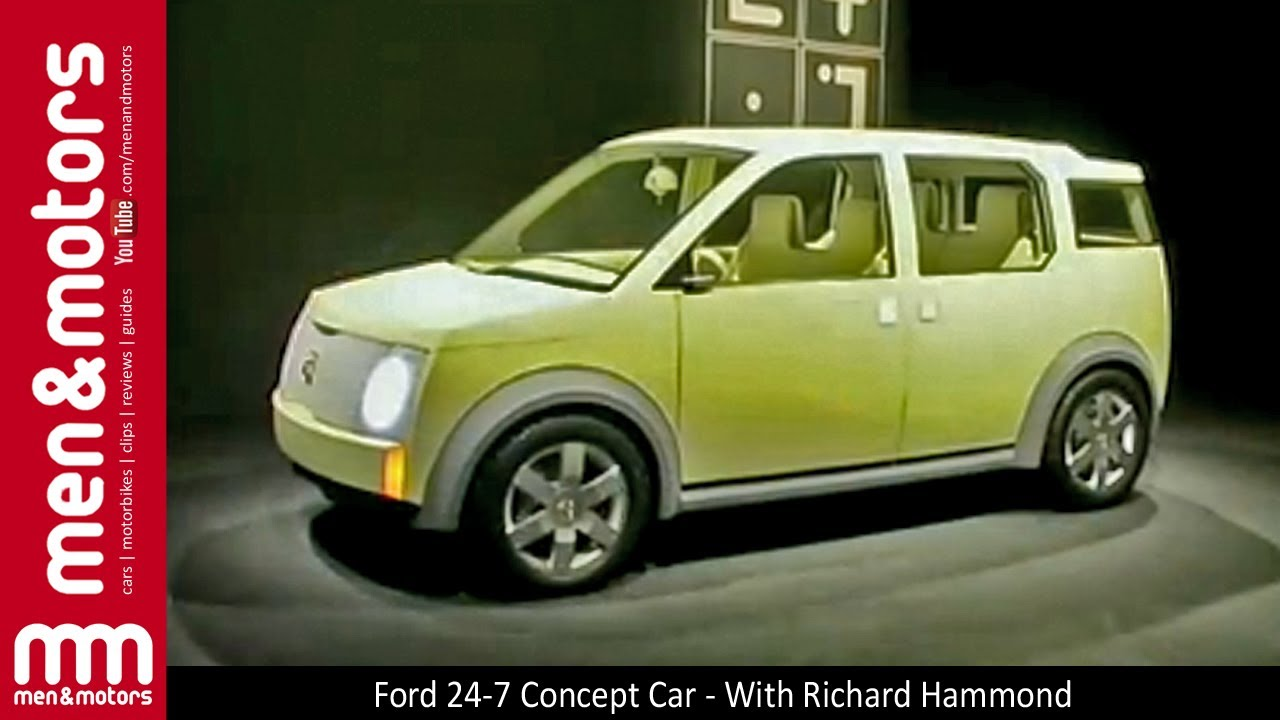 ford 24-7 concept car - with richard hammond - youtube