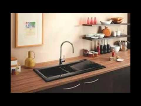 black sink kitchen dark walnut cabinets sinks youtube