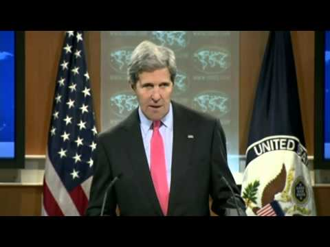 U.S. Secretary of State John Kerry on 2013 Events in Egypt