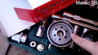 Замена масла. Рено Логан. Масляный и воздушный фильтр. ТО автомобиля. Макас по жизни#38.