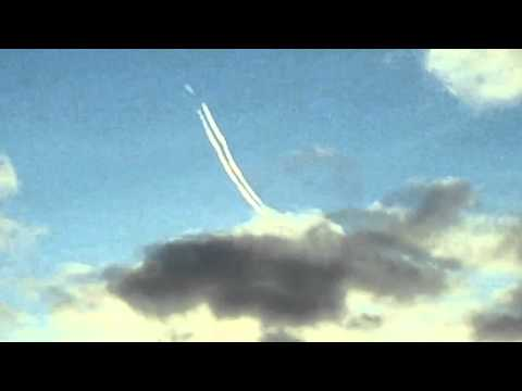 Unexplained flying objects over Moray