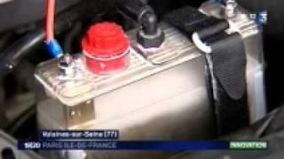 Kit hydrogène sur véhicule