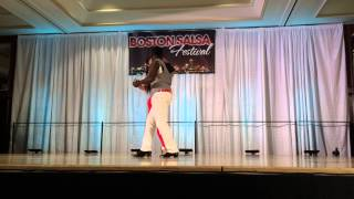 JUNIOR & ANYA kizomba performance at the BSF 2014