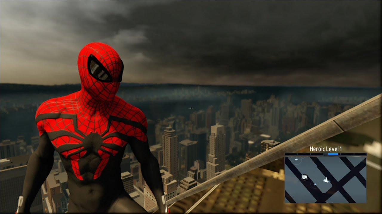 the amazing spider-man 2 - superior spider-man costume free roam