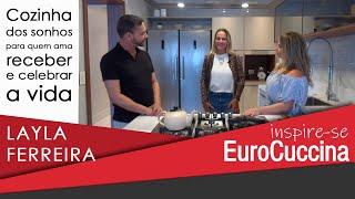 Layla Ferreira no Inspire-se EuroCuccina
