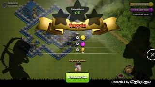 1 Trooper vs Good TownHall protection Clash Of Clans
