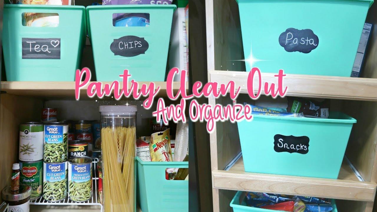 Pantry Organization on a Budget-Clean Out And Organizing My SMALL ...