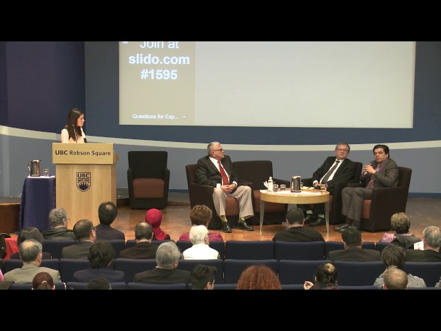 Moderated Q&A with Dr  Parhar, Dr  Krell, and Chief Joseph