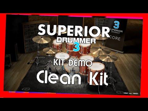 SUPERIOR Drummer 3 - Demo Clean Kit