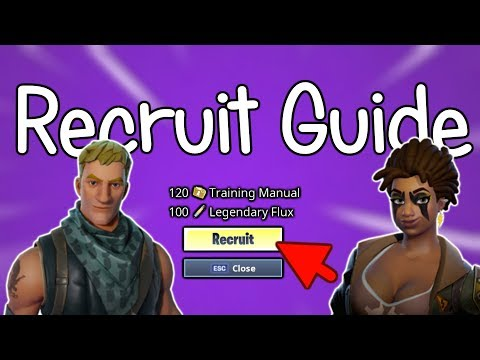 collection book recruitment guide fortnite save the world pve - fortnite save the world training manuals