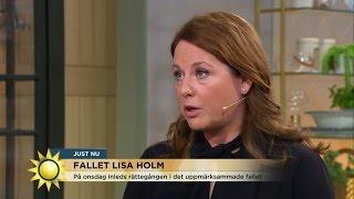 """DNA-expert om Lisa Holm-mordet: """"Den tekniska bevisningen är stark."""" - Nyhetsmorgon (TV4)"""