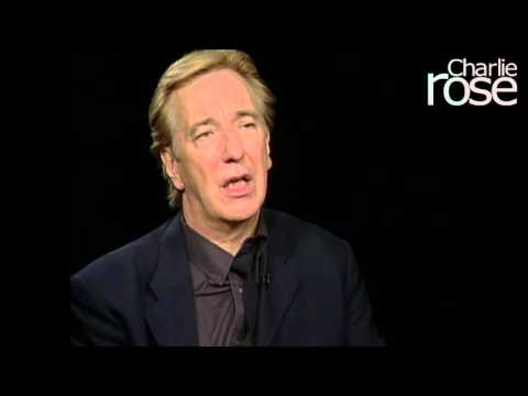 "Alan Rickman on the ""gremlin"" that is stage fright (Jun. 7, 2002) 