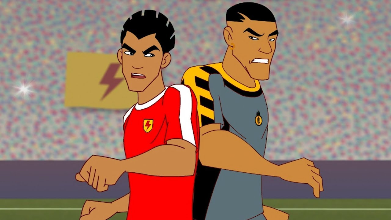 Supa Strikas Full Episode Compilation Shakes On A Train Soccer Cartoons For Kids Youtube
