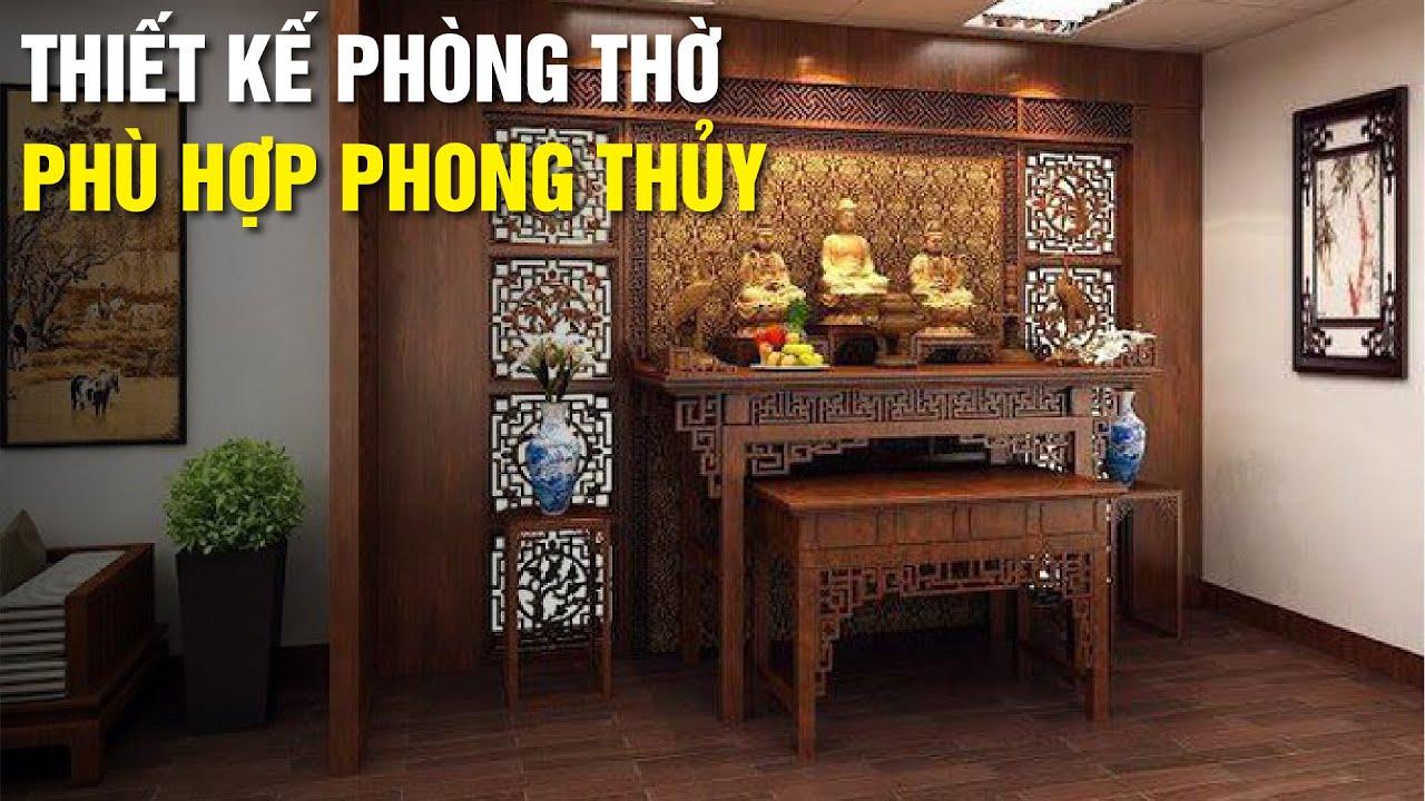 Quy tắc thiết kế nội thất phòng thờ theo phong thủy cho người Việt