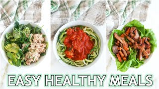 Easy Healthy Recipes For Dinner Anyone Can Make!