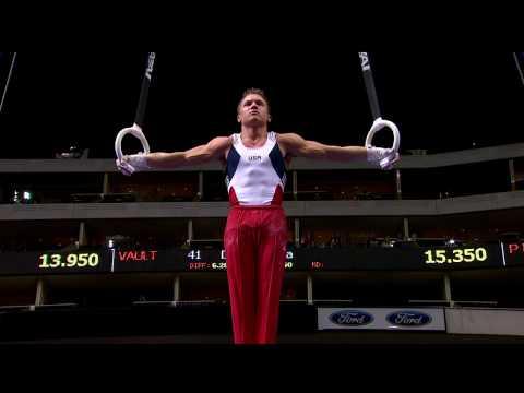 Jonathan Horton - Still Rings - 2009 Visa Championships - Men - Day 2