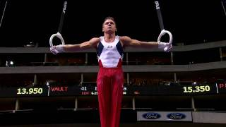 Jonathan Horton - Still Rings - 2009 Visa Championships - Men - Day 2
