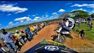 Monster Kawa #724 Ray Mejia, #801 Suzuki Jeff Alessi, 1st position fight, Gopro hero 3+