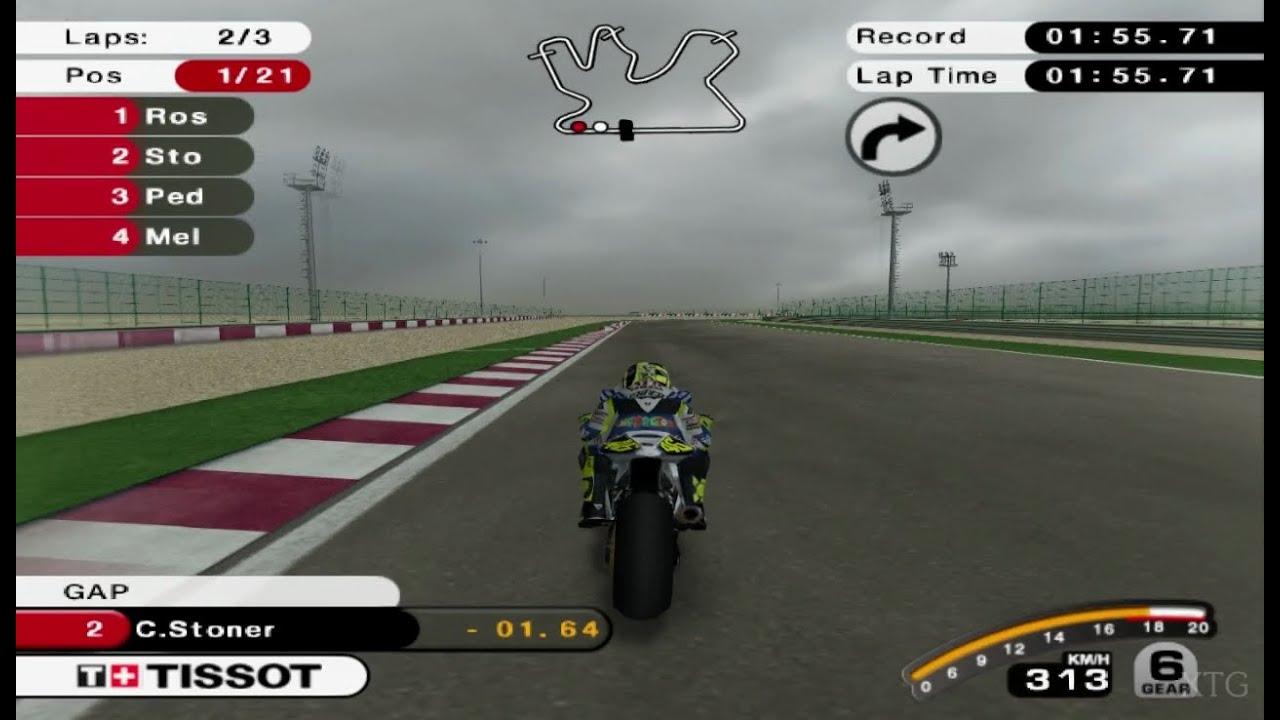 MotoGP 07 PS2 Gameplay HD (PCSX2) - YouTube