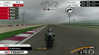MotoGP 07 PS2 Gameplay HD (PCSX2)