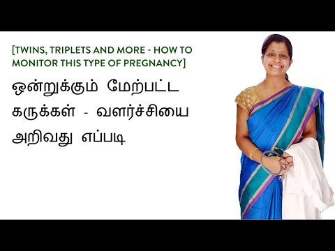 (Tamil) Learn more about the Multiple Pregnancy scan to assess the development of multiple fetuses