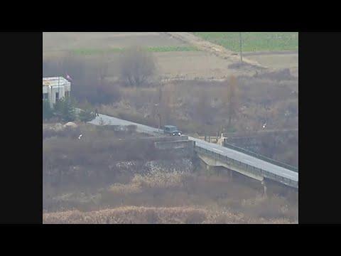 Dramatic Video Shows North Korean Soldier Escape