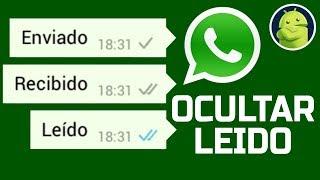 Truco de como leer whatsapp sin que aparezca como leido