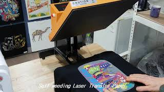 No cut laser transfer paper , …
