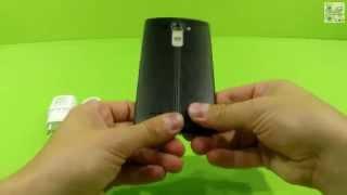 Первые моменты с LG G4 (H818) - unboxing LG G4