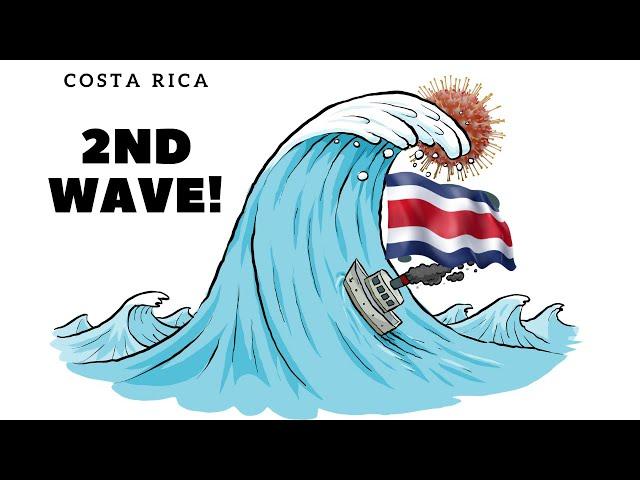 Costa Rica Coronavirus Update - A second wave is here