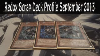 Redox Scrap Deck Profile; September 2013