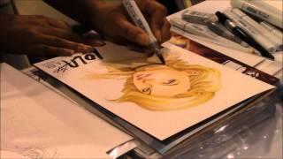 Siya Oum Drawing Lola