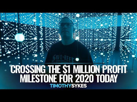 Crossing The $1 Million Profit Milestone For 2020 Today