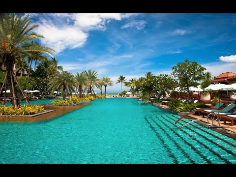 DUSIT THANI Hua Hin - Tour of the Hotel Resort Grounds & Beach
