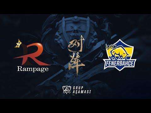 Rampage ( RPG ) vs 1907 Fenerbahçe Espor ( FB ) Maç Özeti   Worlds 2017 Ön Eleme 1. Tur