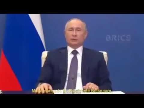 - Palavras do Presidente da Rússia, Vladimir Putin, ao término  do encontro do BRICS.
