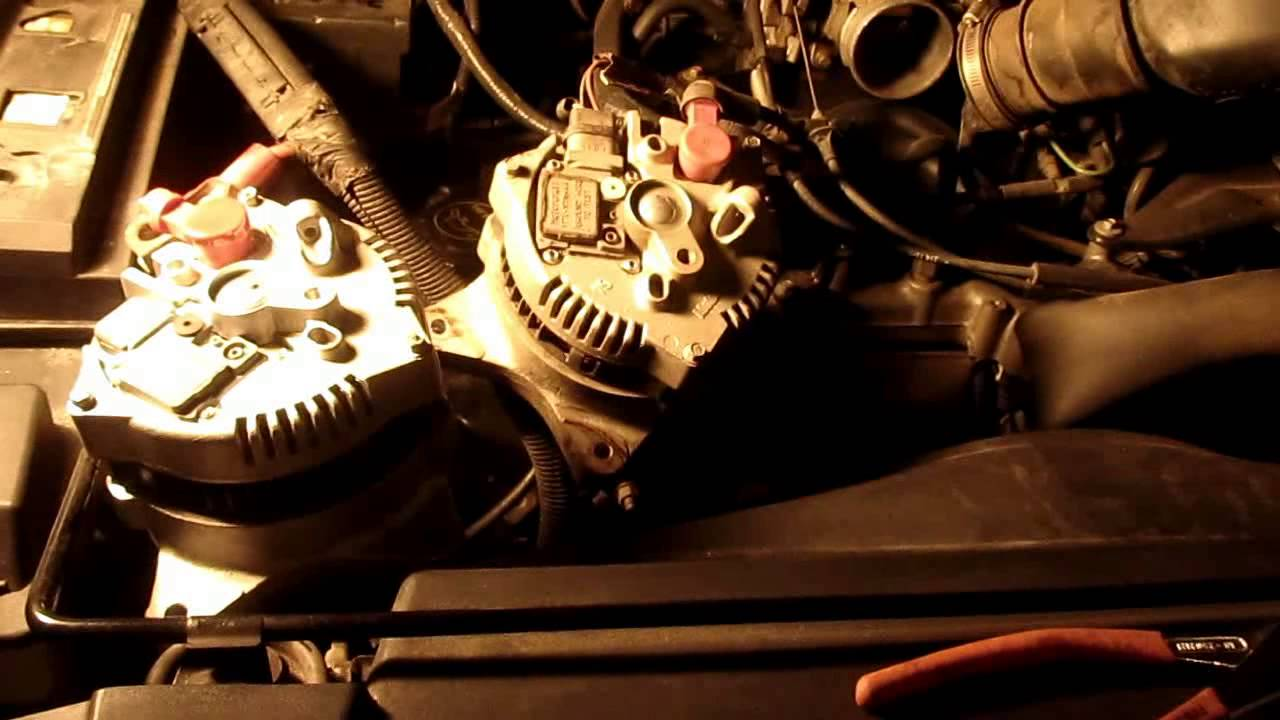 Change the alternator on a 54l or 46l ford v8 youtube sciox Gallery