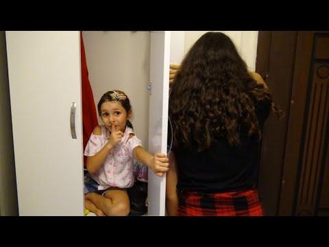 Lina Kuzenleri İle Evde Saklambaç Oynuyor! Hıde And Seek Eğlenceli Çocuk Videosu