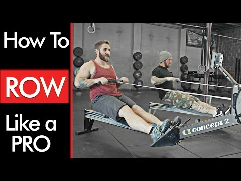 Rowing Machine : TECHNIQUE and BENEFITS