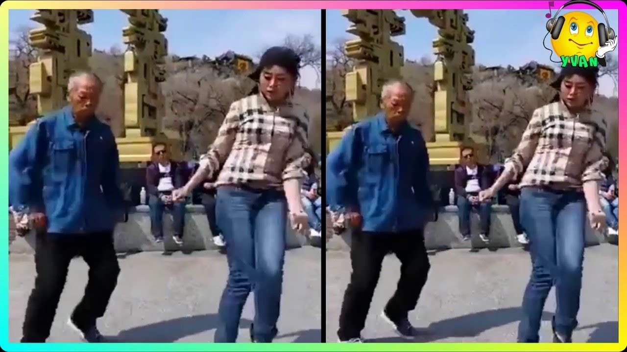 Shanghai dancing grandpa