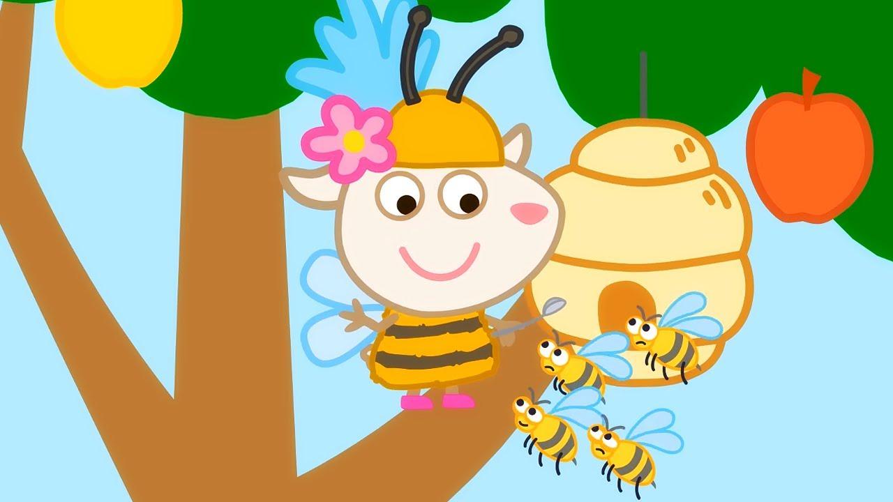 🦋 Долли и друзья. Оригинальные серии – Сборник 11 | Развивающий мультфильм для малышей