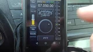 HamSphere en walkie phone Sure 8S DMR