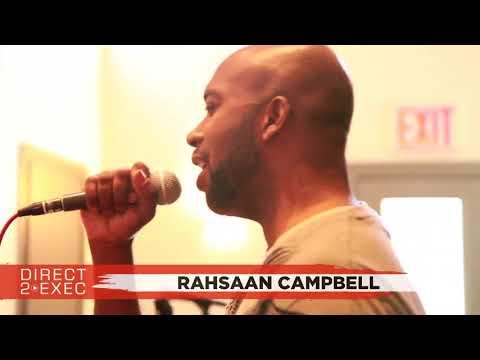 Rahsaan Campbell Performs at Direct 2 Exec NYC 4/20/18 -  Atlantic Records