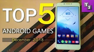 Top 5 Free Android Games of December 2018 - Offline Games