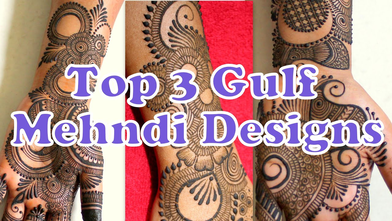 Unique & Beautiful, Easy to apply Gulf Mehndi Designs by 9T9 Arts||Simple Floral Henna Mehndi Design