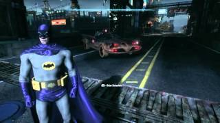 Batman Arkham Knight all cars and suits