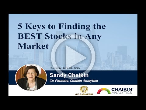 5 Keys to Finding the BEST Stocks in Any Market