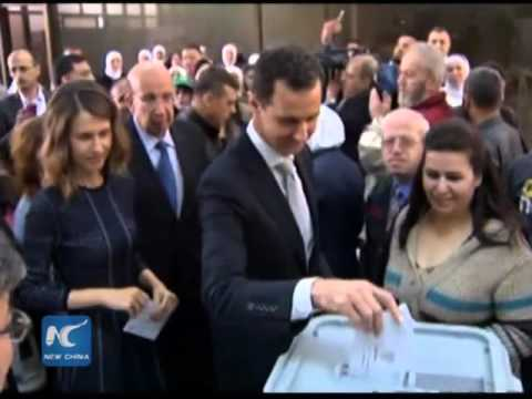 Assad casts ballot as Syria holds parliament elections