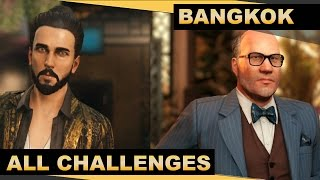 Hitman (PC) - Episode 4 - Bangkok - All Challenges- MASTER Guide (60fps)