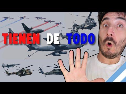 Argentino reacciona a PARADA MILITAR AEREA de CHILE. Se hace pis del miedo!